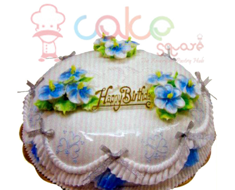 SD192 - Blue Beauty Cake