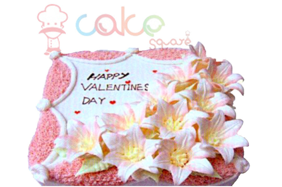 SD195 - Floral Friendship Cake