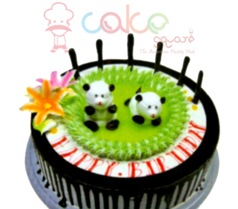SD233 - Playing Panda Cake