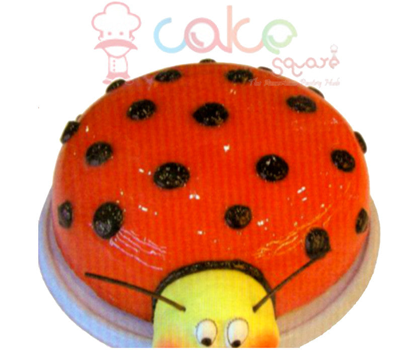 SD252 - Lady Bug Cake