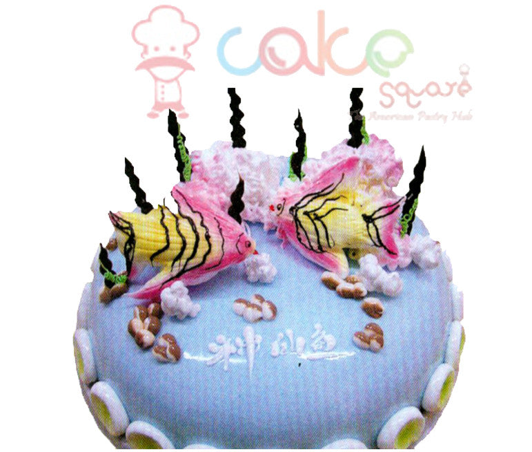 SD291 - Fish for Fun Cake