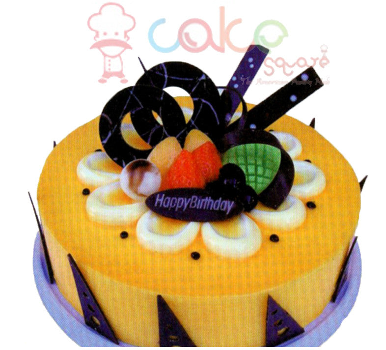 SD464 - Mango Fun Birthday Cake