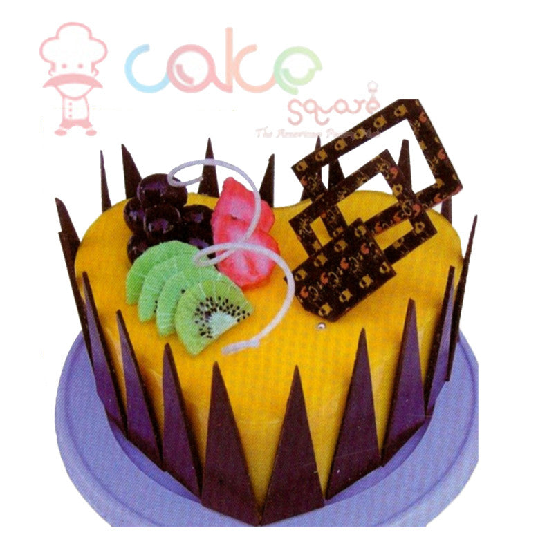 SD467 - Mango Celebration Birthday Cake