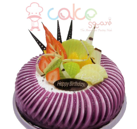 SD556 - Black Currant Bliss Birthday Cake