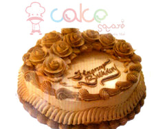 SD576 - Cute Roses Birthday Cake