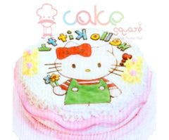 SD577 - Beautiful Kitty Birthday Cake