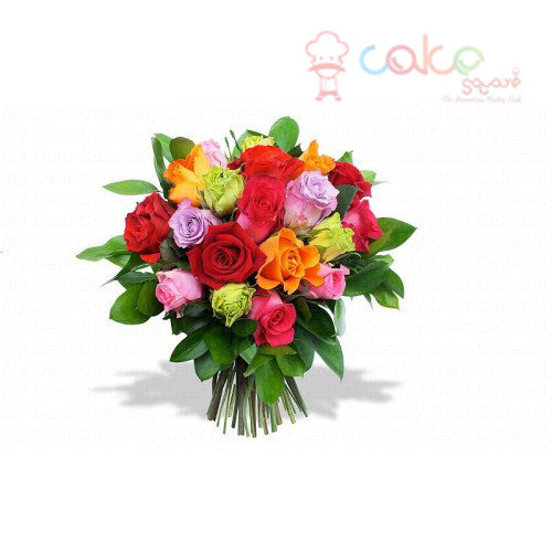 BQ021 - Sweet Emotions Mixed Flower Bouquet