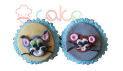 CP086- Tom and Jerry Cupcakes