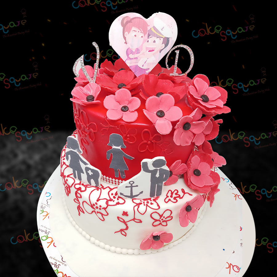 WC 14076 - Wedding Cake