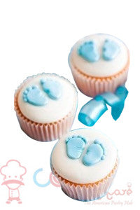 CP096- Welcome Baby Cupcakes