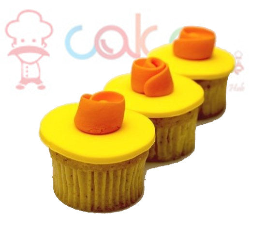 CP097-Yellow Crush Cupcakes