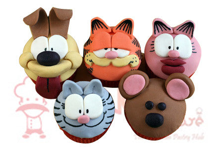 CP092- Zoo Cupcakes