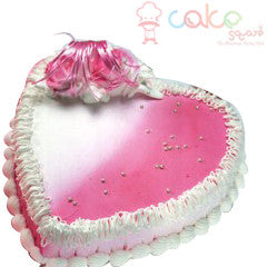 CSDBD663 - Strawberry Heart Cake
