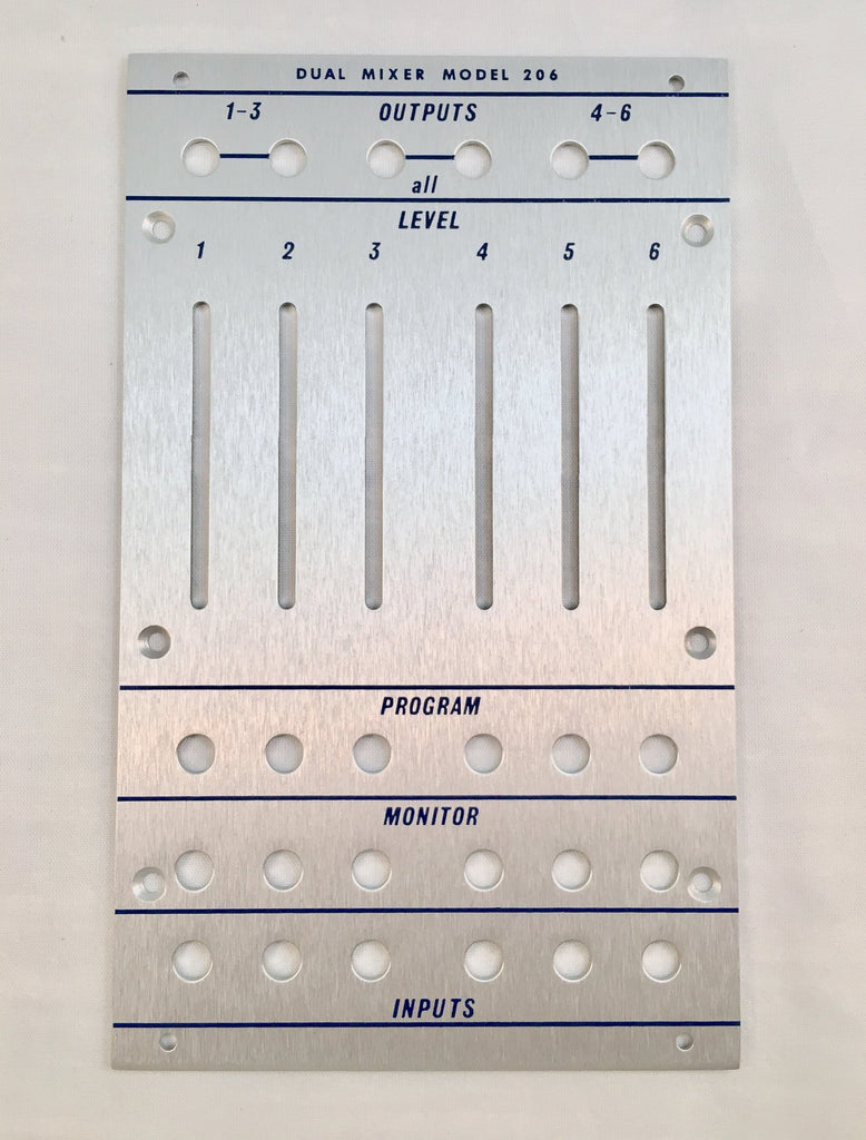 206 front panel (for DIY kit)
