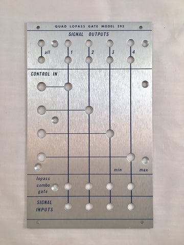 292B front panel (for DIY kit)