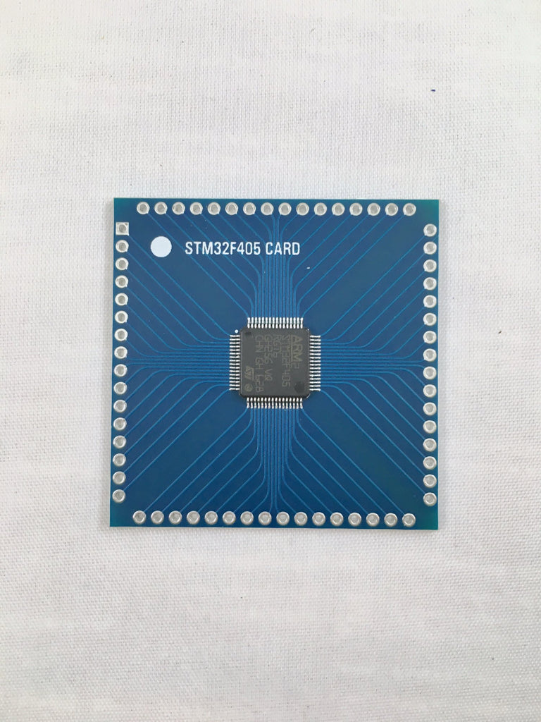 Microcontroller card