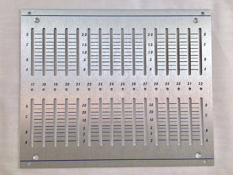 248-EXP front panel (for DIY kit)
