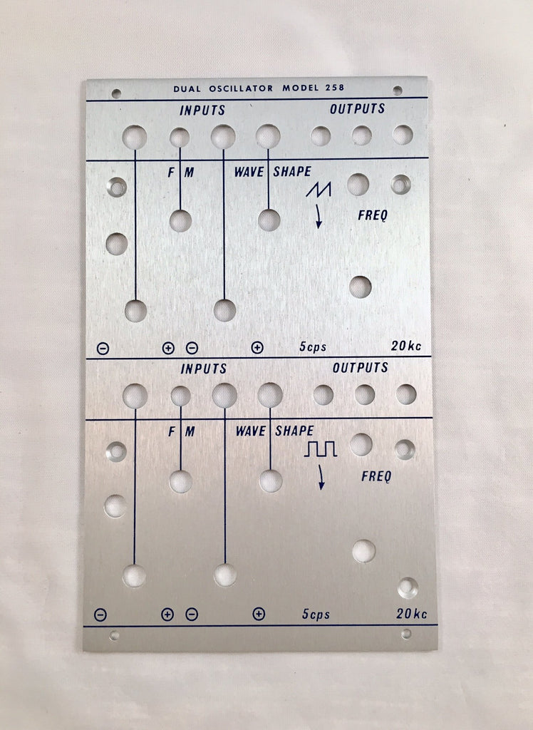 258c front panel (for DIY kit)