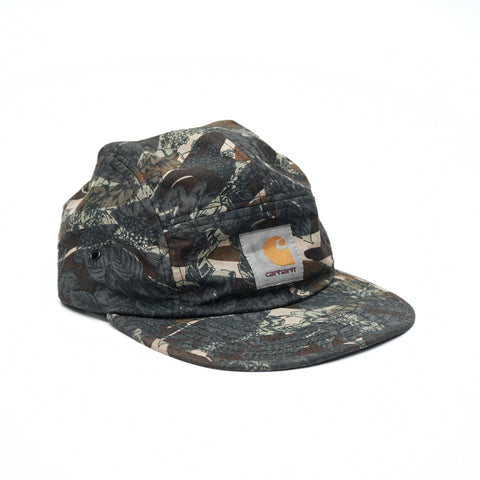 CARHARTT WIP Backley 5-Panel Cap camo rose five panel hat - Kape Mart