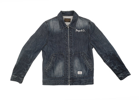 Japanese Brand Stooge & Co Denim Jacket
