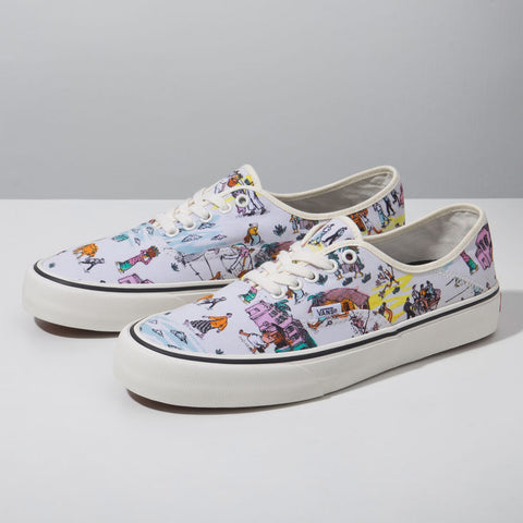 VANS X KIDE COLLECTION AUTHENTIC SF - Kape Mart