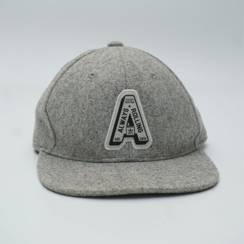Adidas Baseball Cap Grey logo embroidered - Kape Mart