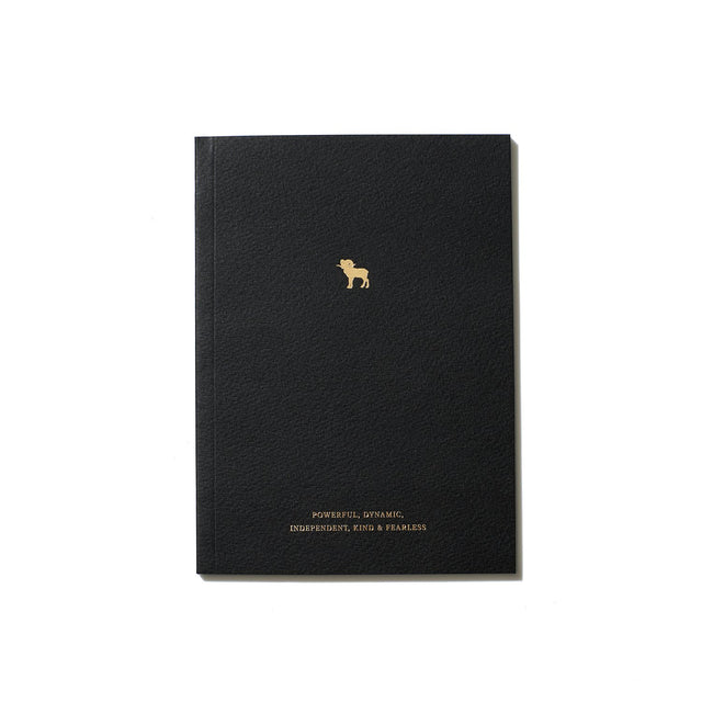 The Aries Zodiac Notebook