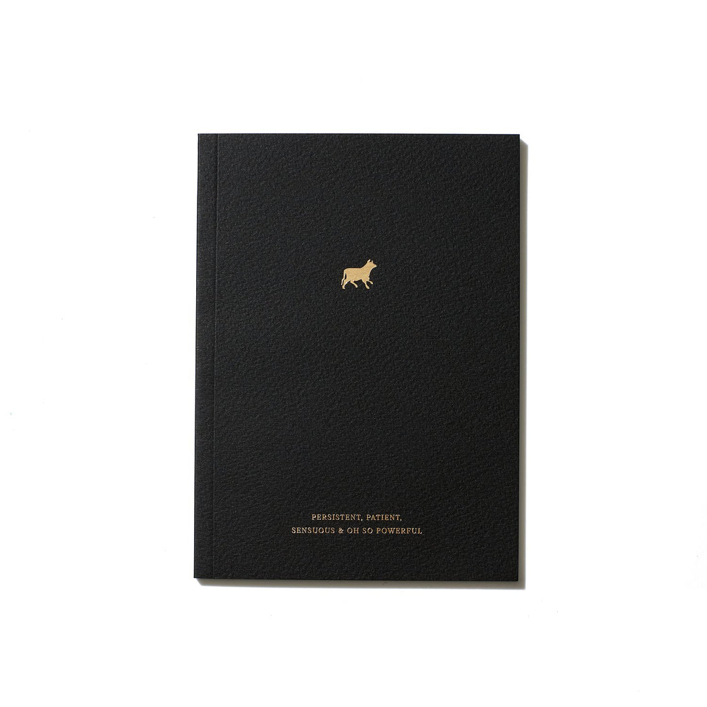The Taurus Zodiac Notebook