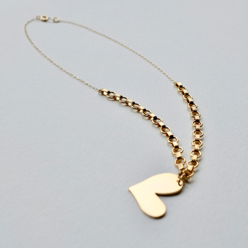 The William heart necklace