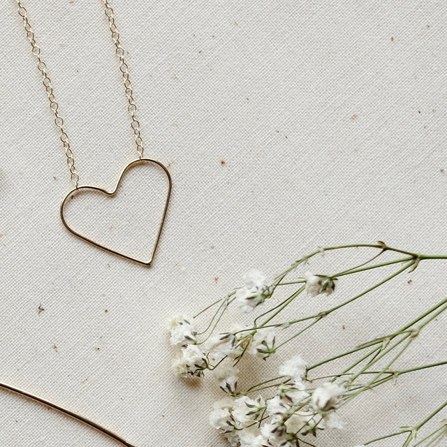 The Petit Coeur necklace