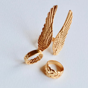 The Angel wings ring