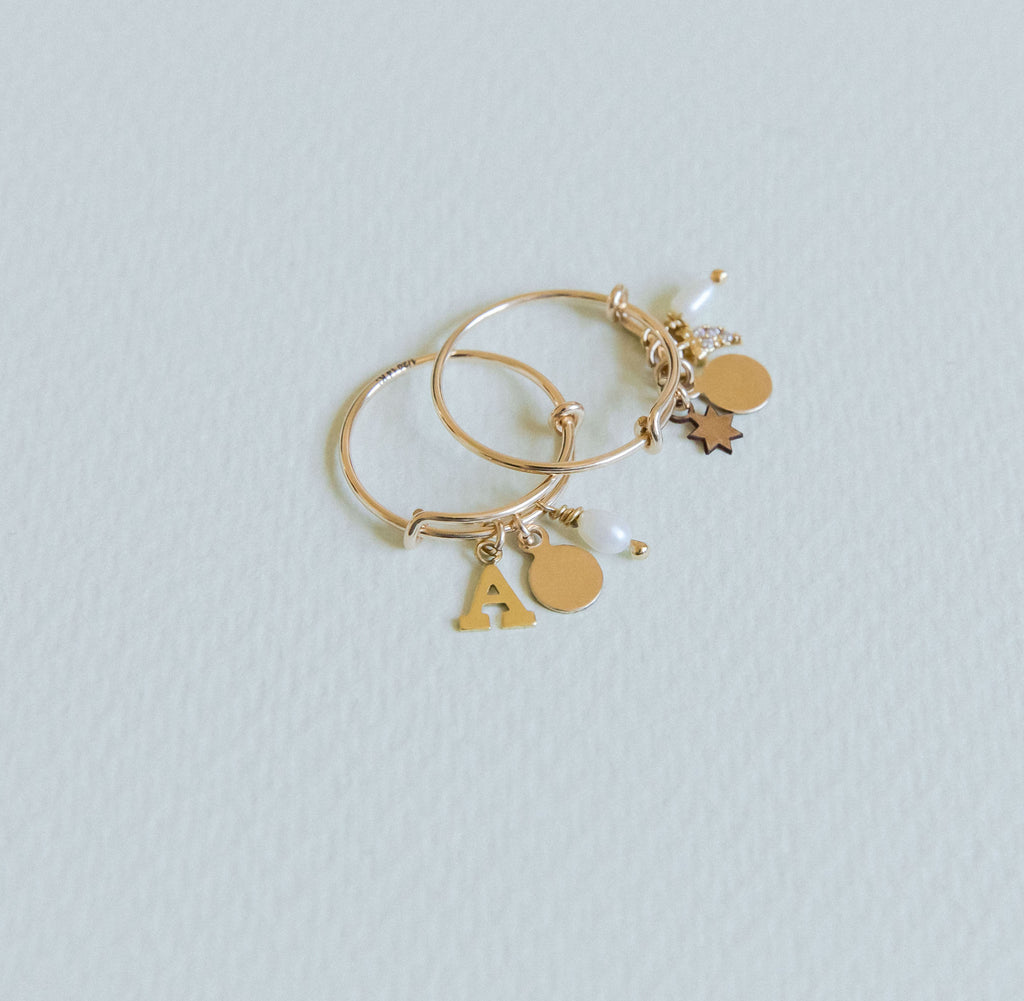 The Surry Hills 4 charms ring