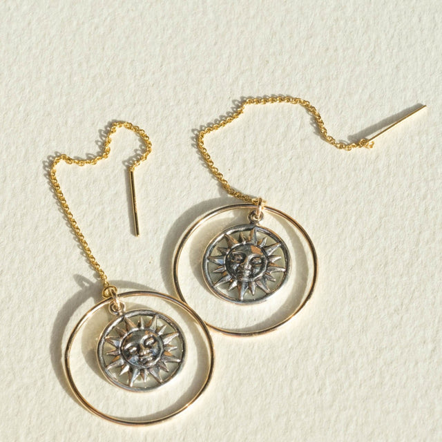 The Sunshine earrings