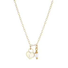 The Heart Lock necklace