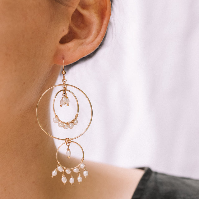 The Catch a Dream earrings
