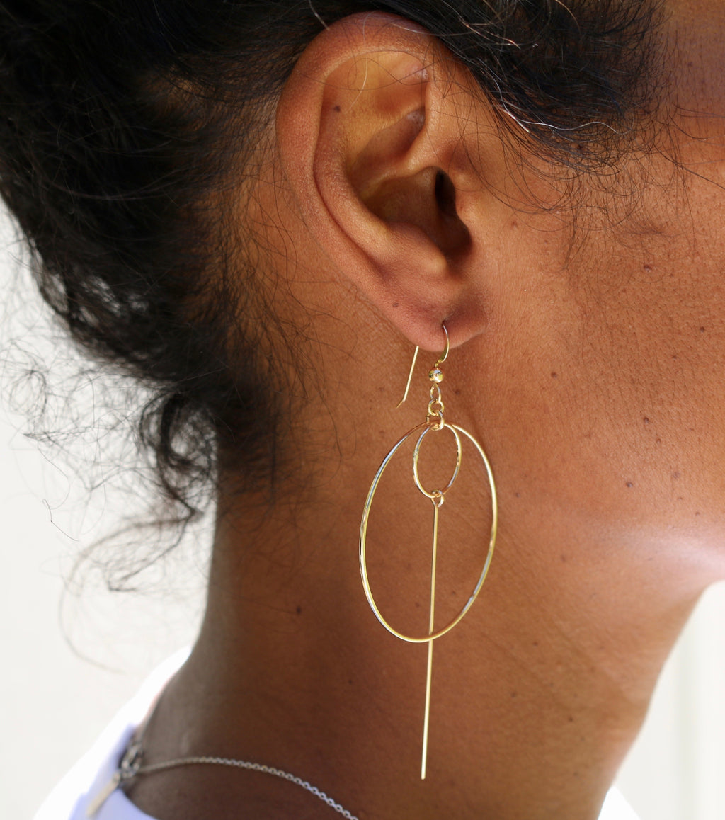 The Tova earrings