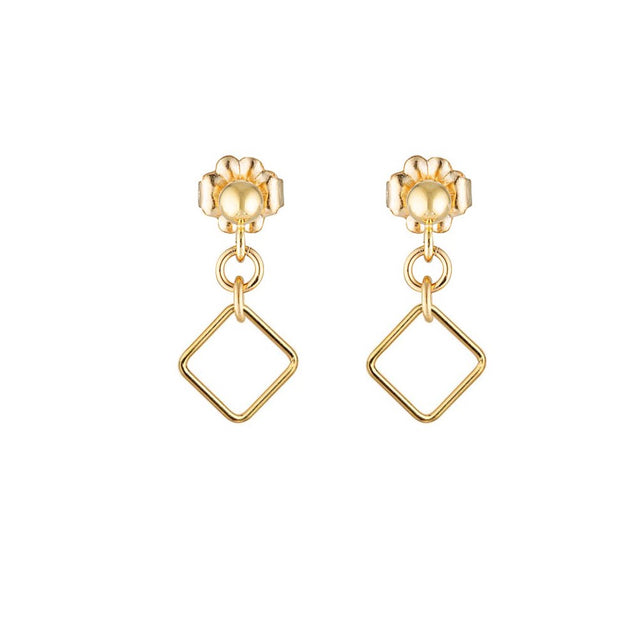 The Mini square earrings