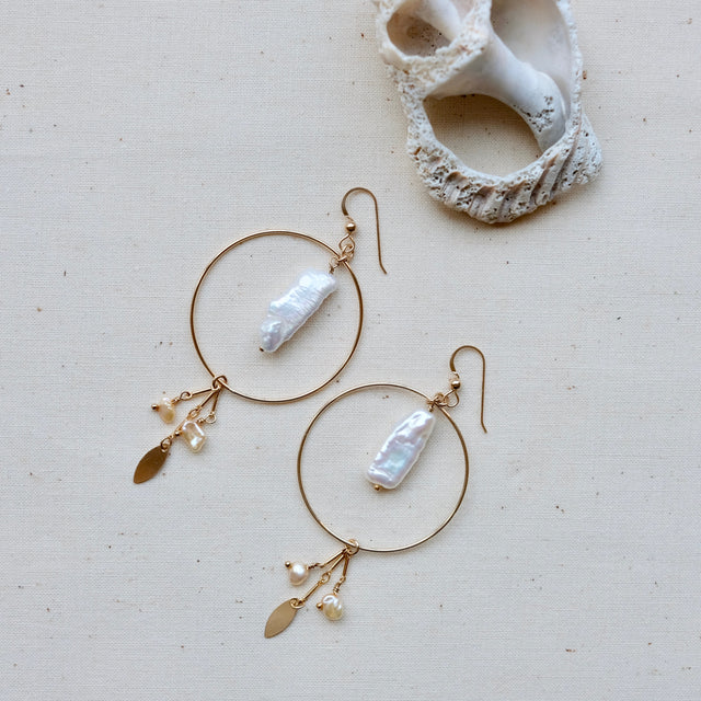 The Sirena earrings
