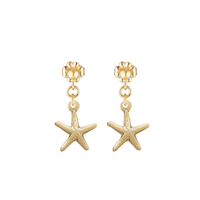 The Mini Star Fish earrings