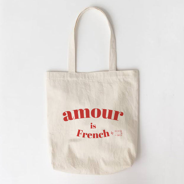 The Amour is French tote bag