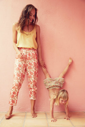 The Chama Bohemian Flowers Pants