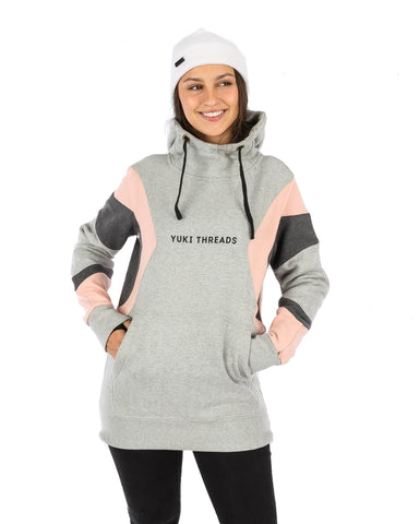 DWR MD Shred Hoodie Grey Marle