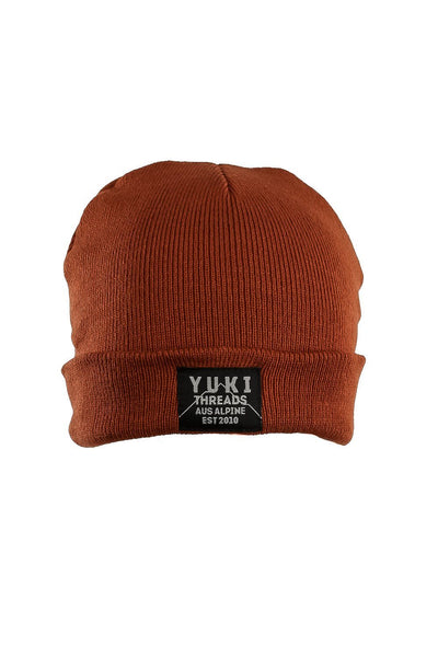 Hill Beanie Burnt Orange