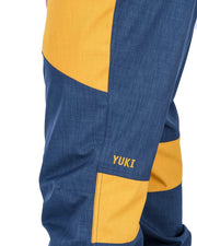 Tundra Bib and Brace Navy / Golden Glow - Yuki Threads