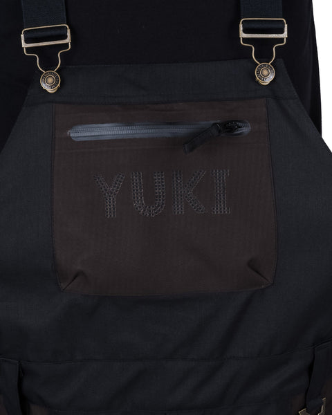 Tundra Bib and Brace Black / Charcoal - Yuki Threads