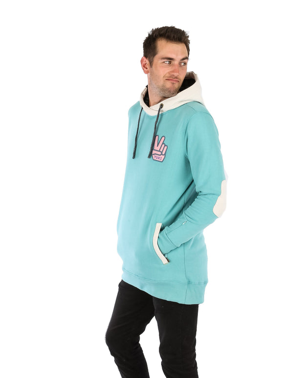 DWR Peace Shred Hoodie Sea Green - Yuki Threads
