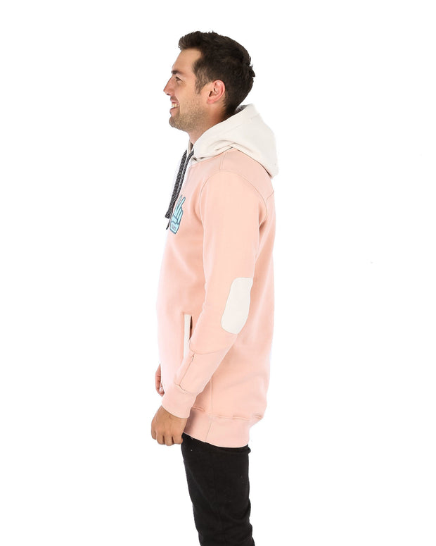 DWRåÊ Peace Shred Hoodie Blush Pink - Yuki Threads