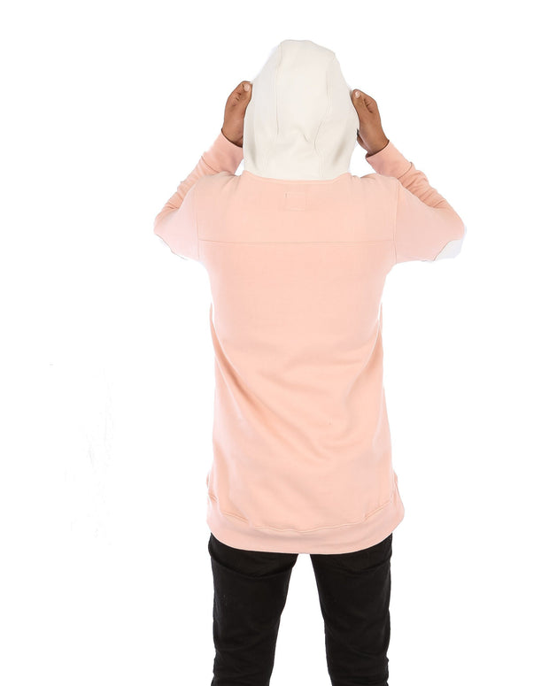 DWR Peace Shred Hoodie Blush Pink - Yuki Threads