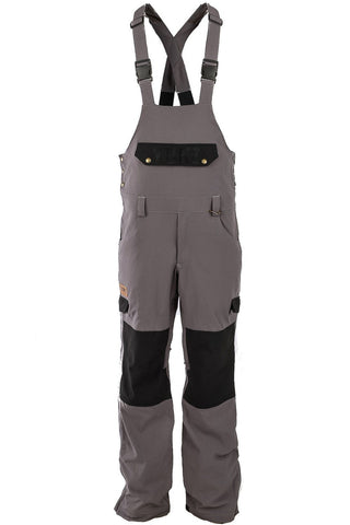 Tradie Bib Charcoal/Black