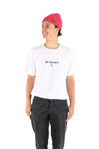 Do Fun Shit Tee White